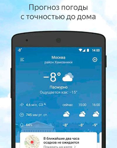 Точность прогноза погоды